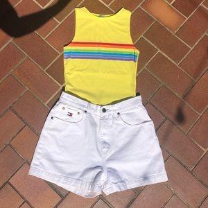 White Tommy Hilfiger shorts